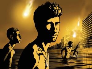 """Immagine tratta dal film """"Valzer con Bashir"""" di Ari Folman (2008)"""